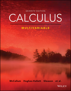 Calculus: Multivariable, Enhanced eText, 7th Edition (1119374200) cover image