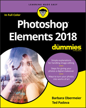 Photoshop Elements 2018 For Dummies (1119418100) cover image