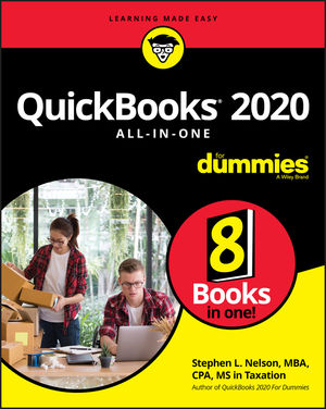 QuickBooks 2020 All-In-One For Dummies