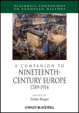 A Companion to Nineteenth-Century Europe: 1789-1914 (1405113200) cover image