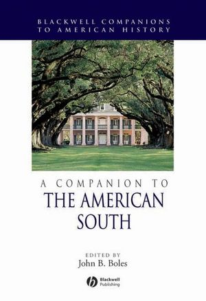 A Companion to the American South (1405138300) cover image