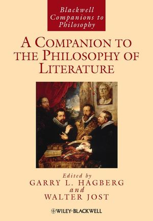 A Companion to the Philosophy of Literature (1405141700) cover image