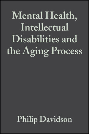 Mental Health, Intellectual Disabilities and the Aging Process (1405172800) cover image