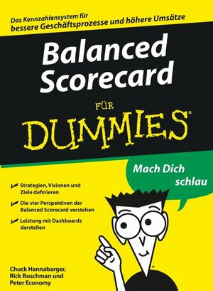Balanced Scorecard für Dummies (3527657800) cover image
