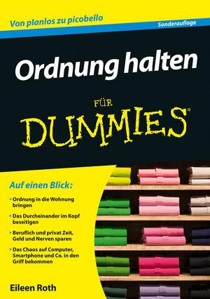 Ordnung halten für Dummies, 2. Auflage