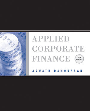Applied Corporate Finance, 3rd Edition (EHEP001500) cover image
