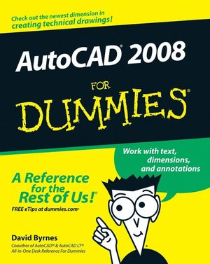 AutoCAD 2008 For Dummies (0470116501) cover image