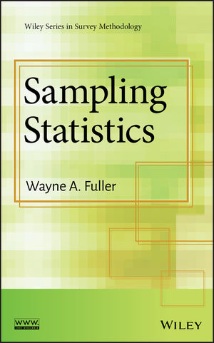 Sampling Statistics (0470454601) cover image