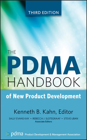 The PDMA Handbook of New Product Development, 3rd Edition (0470648201) cover image