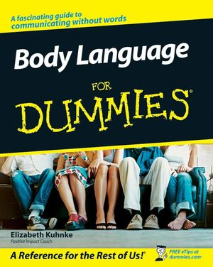 Body Language For Dummies (0470686901) cover image