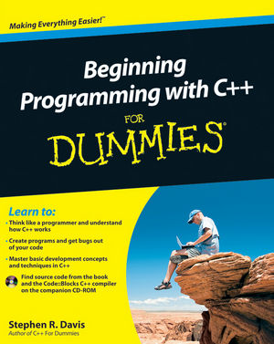 Beginning Programming with C++ For Dummies (0470909501) cover image