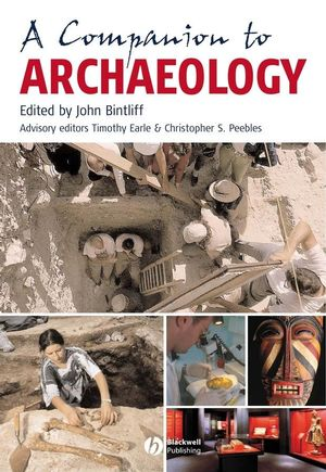 A Companion to Archaeology (0470998601) cover image