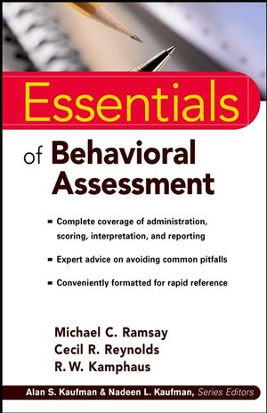 Essentials of Behavioral Assessment (0471218901) cover image