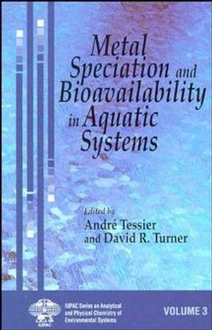 Metal Speciation and Bioavailability in Aquatic Systems (0471958301) cover image