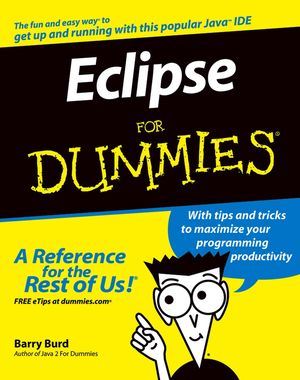 Eclipse For Dummies (0764574701) cover image