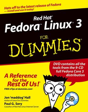 Red Hat Fedora Linux 3 For Dummies (0764579401) cover image