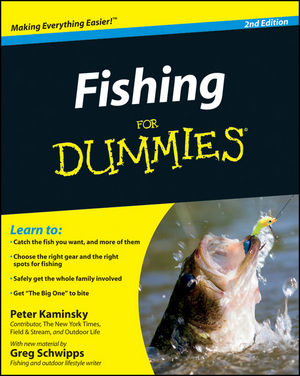Fishing for Dummies, 2nd Edition (1118000501) cover image