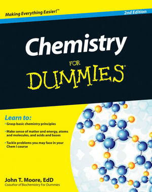 Chemistry For Dummies, 2nd Edition (1118007301) cover image