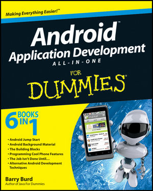 Android Application Development All-in-One For Dummies (1118027701) cover image