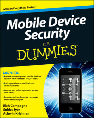 Mobile Device Security For Dummies (1118093801) cover image