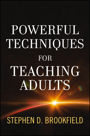 Powerful Techniques for Teaching Adults (1118415701) cover image
