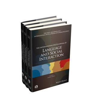 The International Encyclopedia of Language and Social Interaction, 3 Volume Set (1118611101) cover image