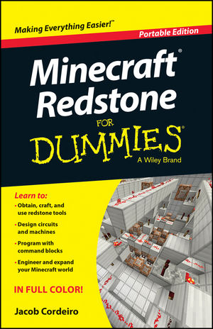 Minecraft Redstone For Dummies, Portable Edition