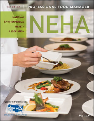 Professional Food Manager, 5th Edition (1119195101) cover image
