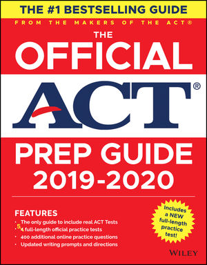 The Official ACT Prep Guide, (Book + Bonus Online Content), 2019-2020 Edition