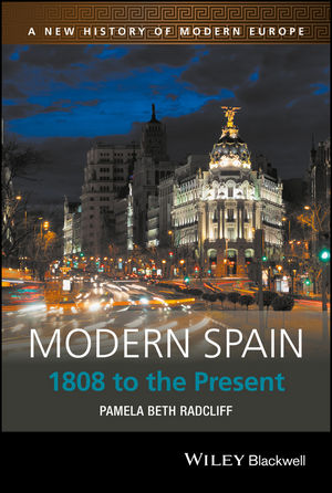 Modern Spain: 1808 to the Present (1405186801) cover image