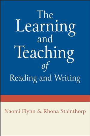 The Learning and Teaching of Reading and Writing (0470029102) cover image