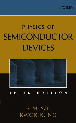 Physics of Semiconductor Devices, 3rd Edition (0470068302) cover image