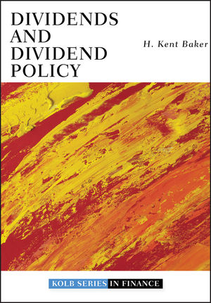 Dividends and Dividend Policy (0470455802) cover image