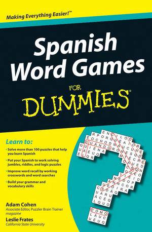 Spanish Word Games For Dummies (0470502002) cover image