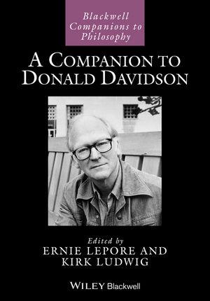 A Companion to Donald Davidson (0470673702) cover image