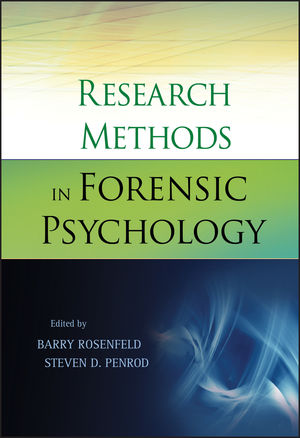 Research Methods in Forensic Psychology (0470933402) cover image