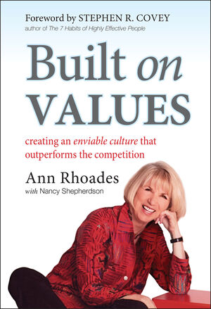 Built on Values: Creating an Enviable Culture that Outperforms the Competition (0470949902) cover image