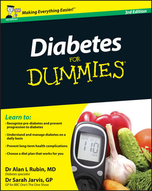 Diabetes For Dummies, 3rd Edition, UK Edition (0470977302) cover image