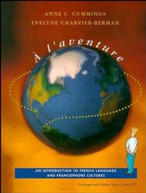 � L'Aventure: An Introduction to French Language and Francophone Cultures (0471177202) cover image