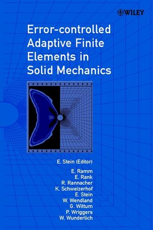 Error-controlled Adaptive Finite Elements in Solid Mechanics  (0471496502) cover image