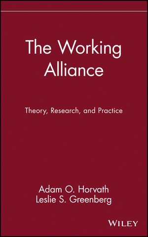 The Working Alliance: Theory, Research, and Practice