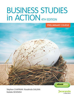 Business Studies in Action: Preliminary Course & eBookPLUS, 4th Edition