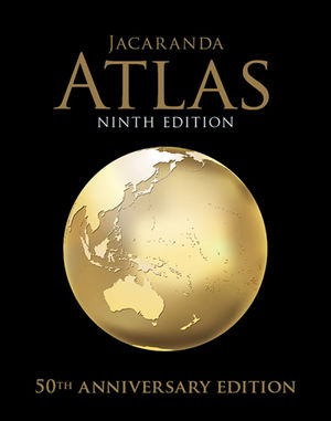 Jacaranda Atlas for the Australian Curriculum 9e (Includes MyWorld Atlas)