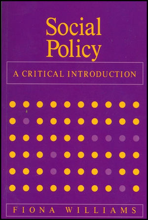 Social Policy: A Critical Introduction