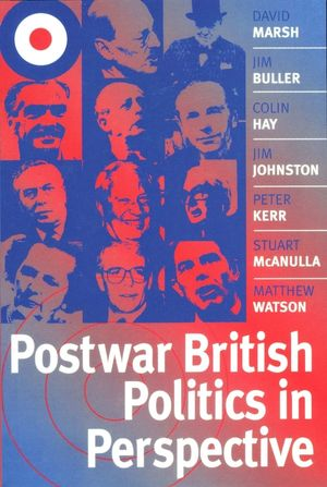 Postwar British Politics in Perspective (0745620302) cover image