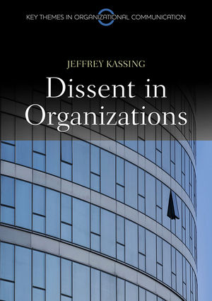 Dissent in Organizations (0745651402) cover image