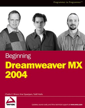 Beginning Dreamweaver�MX 2004 (0764567802) cover image