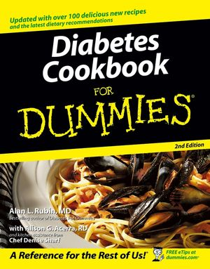 Diabetes Cookbook For Dummies�, 2nd Edition (0764584502) cover image