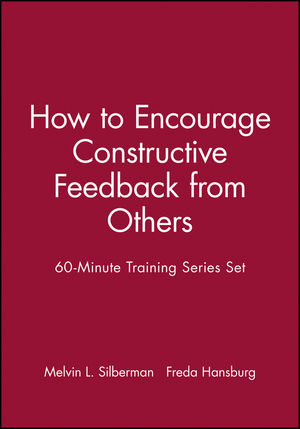 60-Minute Training Series Set: How to Encourage Constructive Feedback from Others