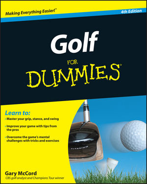 Golf For Dummies, 4th Edition (1118027302) cover image